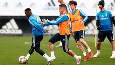 Kroos entrena con el grupo y Vinicius Jr. ya hace gran parte del entrenamiento