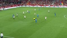 Gol de Ángel (0-1) en el Sevilla 0-2 Getafe