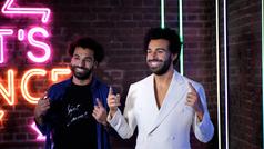 """Mo Salah conoce a su réplica de cera y alucina: """"Es como mirarse al espejo"""""""