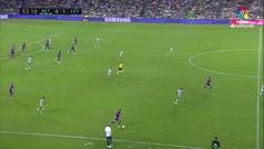 Gol de Morales (0-2) en el Betis 0-3 Levante