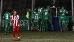 Copa del Rey (1/32): Resumen y gol del Cornellá 1-0 Atlético de Madrid