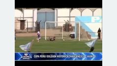 ¡De no creer! Humillan con un 24-0 en la Copa Perú