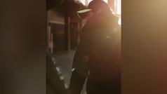 Rossi y Hamilton, el vídeo de su gran duelo en Cheste