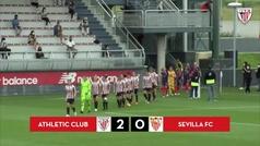 El Athletic Club se impone al Sevilla en Lezama