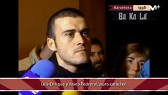 El pique Luis Enrique-Pedrerol de hace 20 años