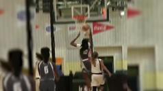 La estrella que viene: Watkins, con 14 años, hace un mate en la Jr. NBA