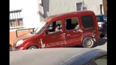 Un kamikaze se salta un control policial y siembra el pánico en Murcia