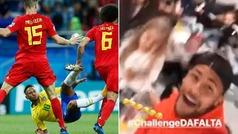 Neymar se burla de su 'challenge' mundialista y realiza su propio reto