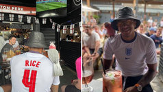 Lingard de jugar la Eurocopa a vivirla en el bar