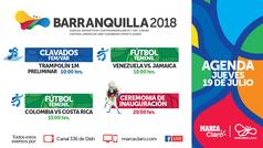 La Agenda del Día 1 en Barranquilla 2018