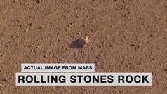 La 'Rolling Stones Rock' en Marte