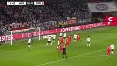 Jovic debuta como titular con Serbia y marca a Alemania a los 12 minutos