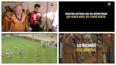"""""""Lo hicimos y lo haremos"""", el vídeo con Koeman con el que el Barça inicia la temporada"""