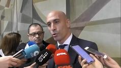 """Luis Rubiales: """"La FIFA ya pidió que se quitara la norma, pero LaLiga se opuso"""""""