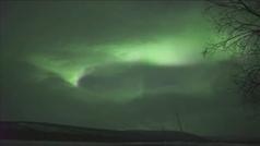 Finlandia registra una de las auroras boreales más espectaculares