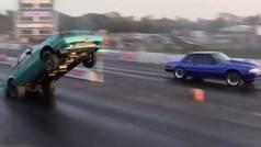 Los momentos más locos y peligrosos de las carreras locas: un vídeo que han visto ocho millones