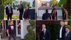 Tom Brady en modo criminal: reclutado por Jimmy Kimmel para vandalizar la casa de Matt Damon