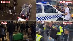 Protestas anti-confinamiento por todo el mundo: París, Londres, Melbourne...