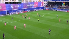 Gol de Cucurella (1-0) en el Eibar 2-2 Barcelona