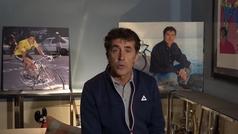 Pedro Delgado analiza los detalles de la próxima edición del Tour de Francia.
