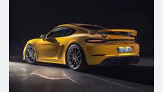 Porsche Cayman GT4... ¡¡muerde!!