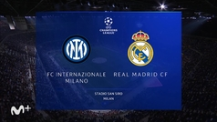 Champions League (J1): resumen del Inter 0-1 Real Madrid