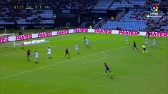 Gol de Rodrigo (1-2) en el Celta 1-2 Valencia