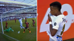 Rodrygo se reencuentra con el gol en 'modo killer' para aleja a Santos del descenso