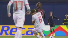 El manotazo de Modric a Ceballos que mosqueó al andaluz