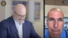 """Zidane: """"Es más difícil ganar a Simeone como entrenador que como jugador"""""""