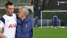 Cazan la 'amenaza' de Mourinho a Bale en un entrenamiento