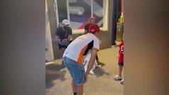 El fantástico gesto de Márquez con un niño italiano