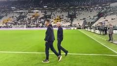 La dulce caminata de Mourinho en su regreso al Juventus Stadium: brutal pitada...