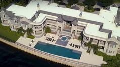 La mansión de Derek Jeter en la que vivirán Tom Brady y Gisele Bundchen en Tampa