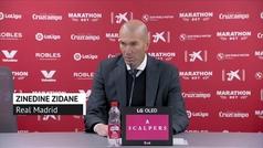 """Zidane: """"Somos un equipo con carácter"""""""