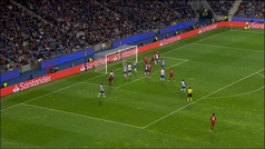 Gol de Van Dijk (1-4) en el Oporto 1-4 Liverpool