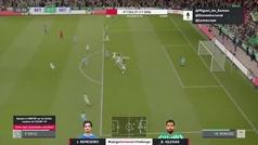 El gol de Borja Iglesias elegido como el mejor del Torneo FIFA LaLiga Santander Challenge
