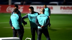 El primer entrenamiento de Luis García como nuevo entrenador del Villarreal