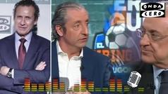 """Valdano: """"Florentino no puede salir en El Chiringuito y presentarse como el salvador del fútbol"""""""