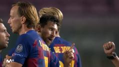 ¿Qué le pasó a Messi con el árbitro al final del partido?