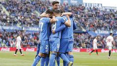 LaLiga (J33): Resumen y goles del Getafe 3-0 Sevilla