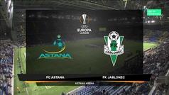 Europa League (J4): Resumen y goles del Astana 2-1 Jablonec