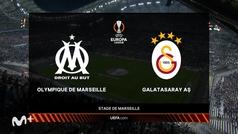 Europa League (J2): resumen del Olympique de Marsella 0-0 Galatasaray