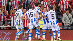 LaLiga (J8): Resumen y goles del Athletic 1-3 Real Sociedad