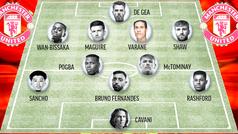 El once del United con Varane: un equipo que volvería a ser temible