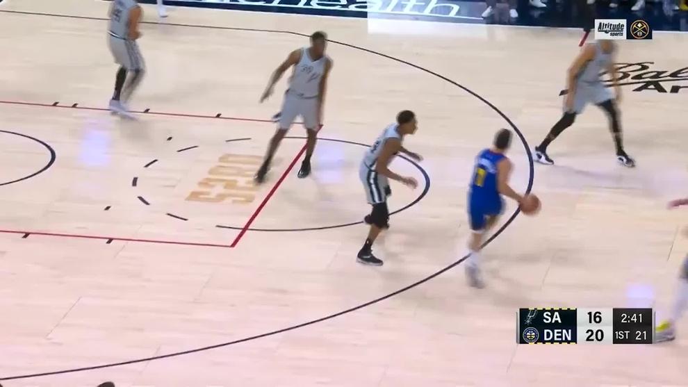 El jugadón de Campazzo olvidado por la NBA