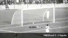 Mundial de 1962: Brasil 2-1 España
