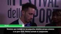 """Dovizioso: """"Somos rápidos pero Márquez es muy fuerte"""""""