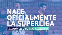 El bombazo ya es oficial: ¡Nace la Superliga europea!