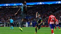 Gol de Batshuayi (1-2) en el Atlético de Madrid 1-2 Chelsea